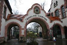 Eingangsportal des Zoo