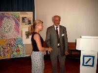 Ehrung der Teilnehmer: Sarah Berger, Geschichte (Immanuel-Kant-Gymn. Leipzig)
