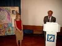 Elisabeth Wand, Preisträgerin im Fach Geschichte