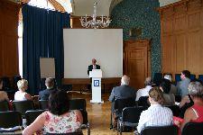 Begrüßung durch Albert Bernhard (Vorsitzender des Bundes der Albertiner)