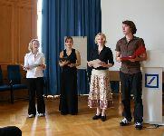 Das Quartett VIERtuos aus Wurzen  sorgte für die musikalische Umrahmung